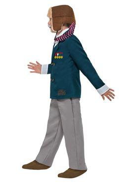Child David Walliams Grandpa's Great Escape Costume - Back View