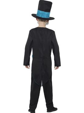 Child Day of the Dead Groom Costume - Side View