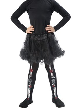 Child Day of the Dead Tights