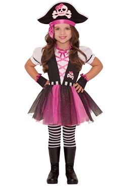 Child Dazzling Pirate Costume