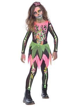 Child Deadly Zombie Girl Costume