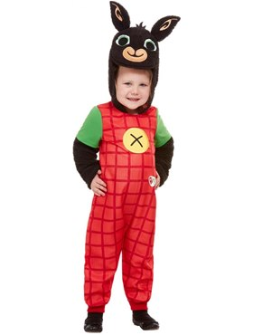 Child Deluxe Bing Costume - Back View
