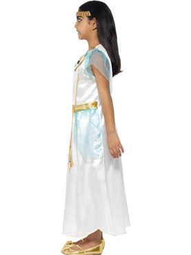Child Deluxe Cleopatra Costume - Back View