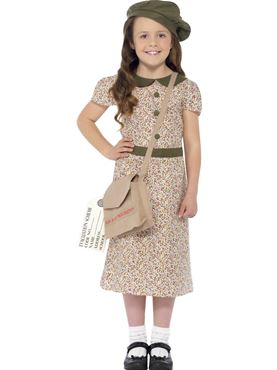 Child Evacuee Girl Costume