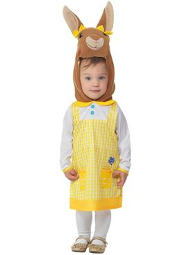 Child Deluxe Cottontail Costume - Side View