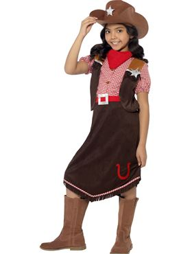 Child Deluxe Cowgirl Costume