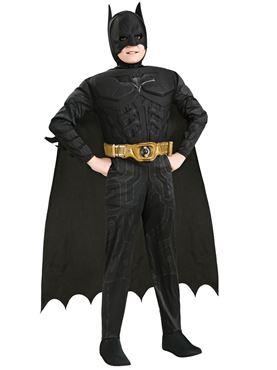 Child Deluxe Dark Knight Batman Costume