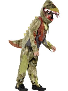 Child Deluxe Deathly Dinosaur Costume