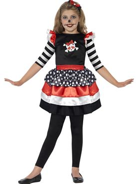 Child Skully Girl Costume