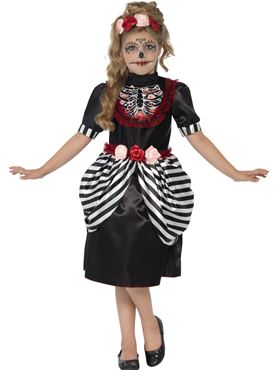 Child Sugar Skull Costume
