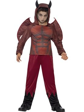 Child Deluxe Devil Costume