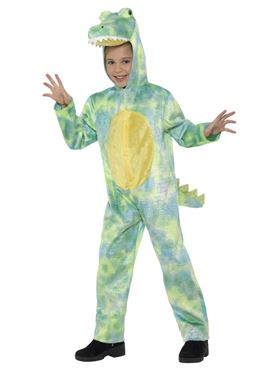 Child Deluxe Dinosaur Costume - Side View