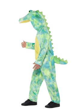 Child Deluxe Dinosaur Costume - Back View