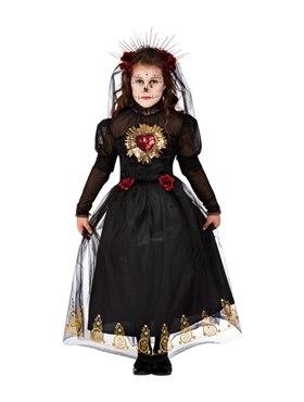 Child Deluxe DOTD Sacred Heart Bride Costume Couples Costume