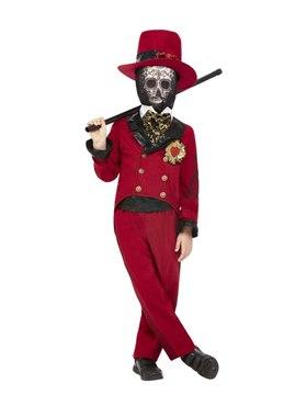 Child Deluxe DOTD Sacred Heart Groom Costume