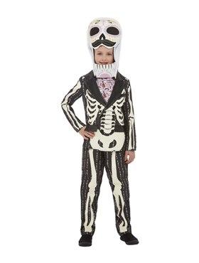 Child Deluxe DOTD Senor Costume - Back View