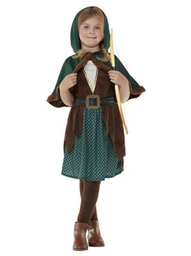 Child Deluxe Forest Archer Costume