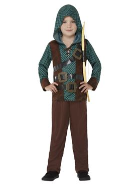 Child Deluxe Forest Archer Costume Couples Costume