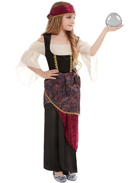 Child Deluxe The Greatest Showman Fortune Teller Costume
