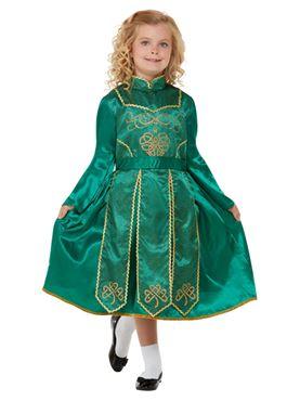Child Deluxe Irish Dancer Costume