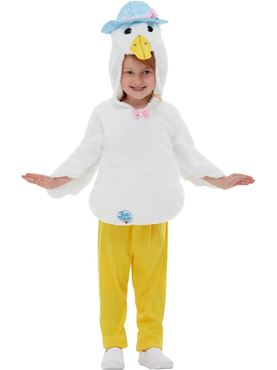 Child Deluxe Jemima Puddleduck Costume - Side View
