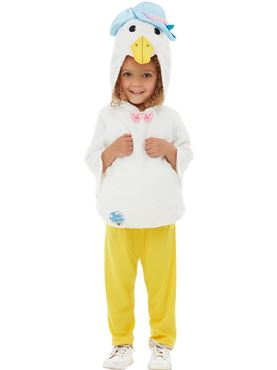 Child Deluxe Jemima Puddleduck Costume - Back View