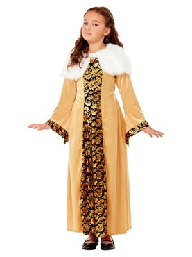 Child Deluxe Medieval Countess Costume