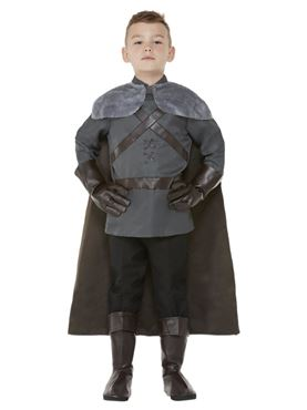 Child Deluxe Medieval Lord Costume - Back View
