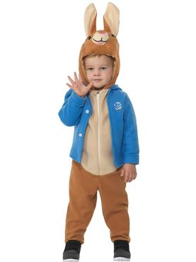 Child Deluxe Peter Rabbit Costume - Back View