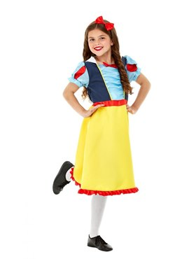 Child Deluxe Princess Snow Costume