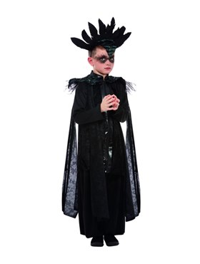Child Deluxe Raven Prince Costume