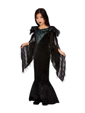 Child Deluxe Raven Princess Costume Couples Costume