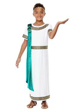 Child Deluxe Roman Empire Emporer Toga Costume
