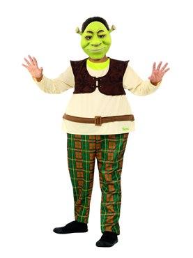 Child Deluxe Shrek Costume