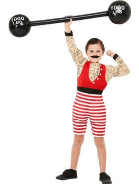 Child Deluxe The Greatest Showman Strong Boy Costume