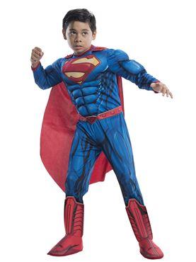 Child Deluxe Superman Man of Steel Costume