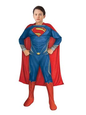 Child Deluxe Superman Man of Steel Muscle Chest Costume
