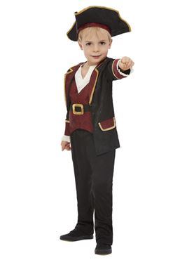 Child Deluxe Swashbuckler Pirate Costume - Side View