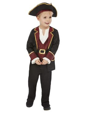 Child Deluxe Swashbuckler Pirate Costume Couples Costume