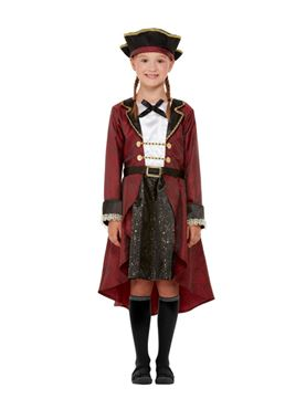 Child Deluxe Swashbuckler Pirate Costume