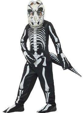 Child Deluxe T-Rex Skeleton Costume