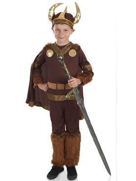 Child Deluxe Viking Warrior Costume