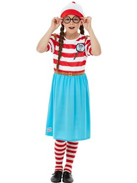 Child Deluxe Where's Wally Costume - Side View