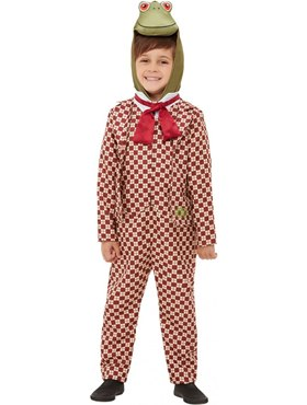 Child Deluxe Wind in the Willows Toad Costume