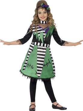 Child Frankie Girl Costume