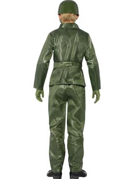 Child Toy Soldier Costume - Side View