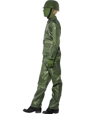 Child Toy Soldier Costume - Back View