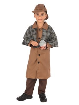 Child Detective Boy Costume