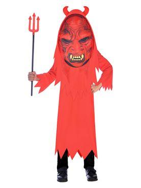 Child Devil Big Head Costume