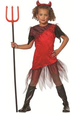 Child Devil Girl Costume